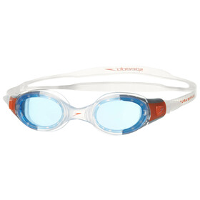speedo Futura Biofuse Goggles Juniors Clear/Blue